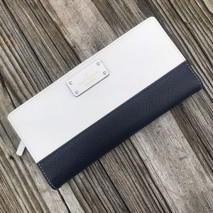 Kate Spade Grand Street Colorblock Stacey Wallet